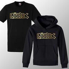 Kids Rob lox Boys Girls Gaming Xbox Gamer Hoodie T Shirt Hoody Gift Winter Gold