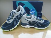 ASICS GEL GT-2000 6 MENS  DARK BLUE GREY  RUNNING TRAINERS SIZE UK 9.5  EU 44.5