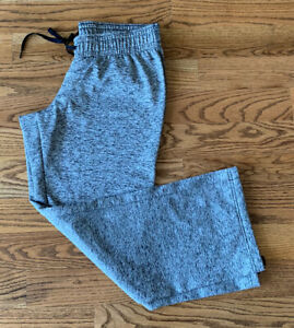 Under Armour Running Athletic Active Travel Sweat Pants Women's Size L Gray