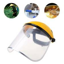 Clear Full Face Shield Safety Helmet Visor Mask For Automotive Construction Hot