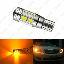 1pc Car Amber Canbus Error Free T10 LED 10 SMD W5W 12V 5630 Wedge Light Bulb