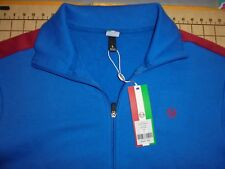 MENS LARGE BLUE/RED SERGIO TACCHINI ZIP UP JACKET - NWT