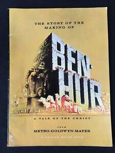 Ben Hur Movie Film Souvenir Brochure Programme 1959