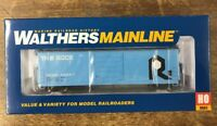 Walthers Mainline HO 910-1932  50' Evans Smooth Side Boxcar Rock Island 50447