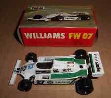 F1 POLISTIL WILLIAMS  FW 07 n°27 ALAN JONES 1979 scale 1:41 RJ70 1982 Boite Box