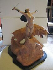 Frank Frazetta's Sun Goddess statue ARTIST PROOF # 9/20  RARE  New in box