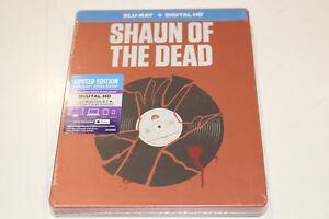 """New"" Shaun of The Dead - Steelbook Bluray + Digital HD"