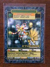 Digimon Digi-Battle Card Game Kyubimon DP-02 Plastic Toy Exclusive Promo