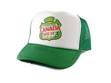 Canada High Trucker Hat mesh hat snapback hat green