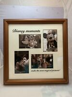 Disney Mickey Mouse Family Vacation Memories Collage Picture Photo Frame 16 x 16