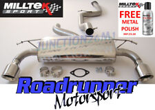 Milltek FOCUS ST 225 Exhaust Stainless Cat Back System NON RES 2008 Louder GT100