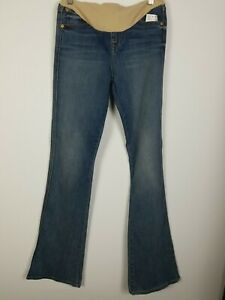 7 For All Mankind Maternity Secret Fit Belly Bootcut Jeans Sz 25 New