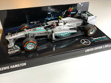 Lewis Hamilton Mercedes AMG F1 W04 2013 USA Austin GP 1/43 Minichamps