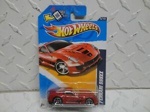 2012 Hot Wheels #125 Red Ferrari 599 XX