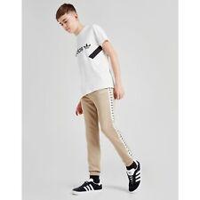 New Boys Adidas Originals Tracksuit Bottoms Kids Track Pants Joggers Junior 7-8