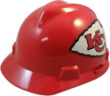 Kansas City Chiefs Msa V Gard Cap Style Nfl Hard Hat