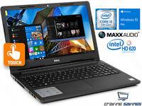 Dell 3000 Series 15.6 Touch Laptop, i5-7200U, 16GB DDR4, 1TB SSD, W10P