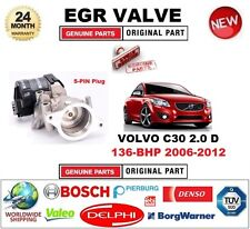 FOR VOLVO C30 2.0 D 136-BHP 2006-2012 Electric 5PIN EGR VALVE with GASKETS/SEALS