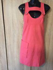 GORGEOS SONIA RYKIEL PEACH WOMEN DRESS SIZE 38 UK 10