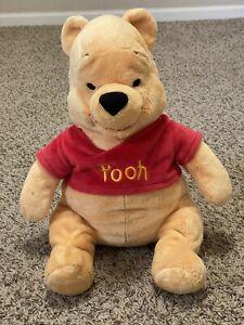 "Winnie The Pooh Plush Original Authentic Disney Store Plush 16"" Stuffed Animal"