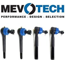 For Chevrolet Front Outer & Inner Heavy Duty Tie Rod Ends KIT Mevotech