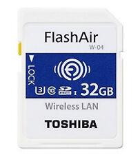 Toshiba Flashair W-04 32GB SDHC Uhs-i clase 3 memoria Flash