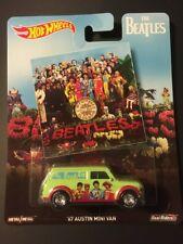 2017 Hot Wheels Pop Culture : THE BEATLES - '67 AUSTIN MINI VAN