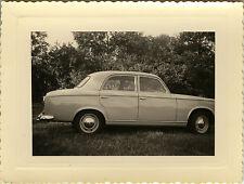 PHOTO ANCIENNE - VINTAGE SNAPSHOT - VOITURE AUTOMOBILE PEUGEOT 403/7 - CAR 1962