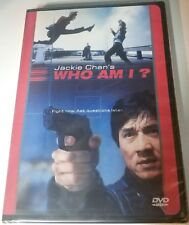 Who Am I? Jackie Chan (DVD,1999)NTSC/R1/ Factory Sealed/ Includes chapter insert