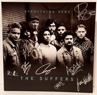 """THE SUFFERS Signed Autographed LP VINYL Record """"EVERYTHING HERE"""" JSA # EE09483"""