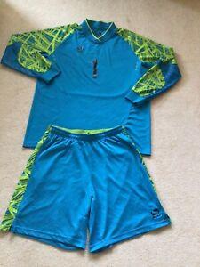 Sondico adult football top and shorts Blue 2XL (goalkeeper)