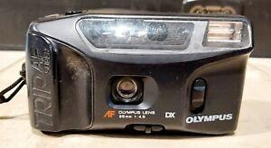VINTAGE CAMERA OLYMPUS TRIP AF SUPER CAMERA 35mm 1.4.5 DX UNTESTED