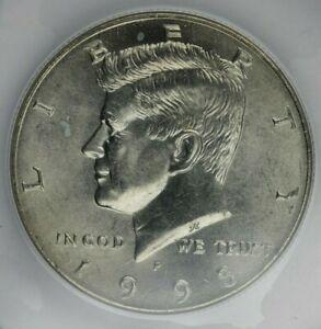 1995 P Kennedy Half Dollar ANACS MS66