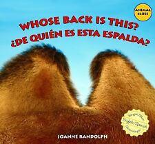 Whose Back Is This?  ..De quien es esta espalda? (Animal Clues  ..adivina De Qui