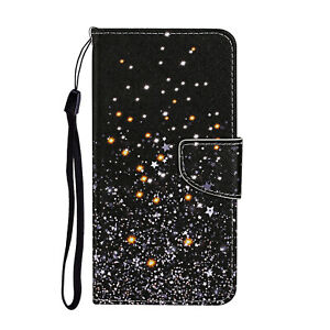 For iphone SE 2020 XS Max 8 Case Magnetic Flip Leather Wallet Card Holder Cover