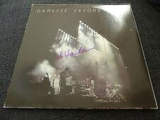 """GENESIS Steve Hackett signed Autogramm """"SECONDS OUT"""" Vinyl Platte LP InPerson"""