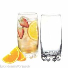 Tumblers Long Drink Glasses Juice/Water Set of 6 Gift Boxed ADORA Highball Glass