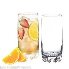 Verres à eau long drink verres jus eau/lot de 6 coffret cadeau adora whisky soda verre