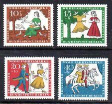 Germany Berlin 1965 Welfare: Cinderella Mi. 266-69, Scott 9NB 33-36 superb MNH