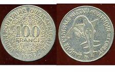 ETATS DE L'AFRIQUE DE L'OUEST  100 francs  1996  ( bis )