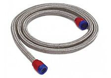 """Vacuum Hose Line Kit  5/32"""" I.D.x 3' With End Covers Braided Stainless 19190"""