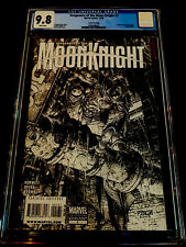 VENGEANCE of the MOON KNIGHT #1 CGC 9.8 HTF FINCH VARIANT INCENTIVE SKETCH COVER