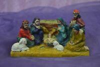 L/'Enfant Jésus Robe Bambinello Jésus Poly Noël Crèche 20 CM