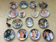 Princess Diana Bradford Exchange/Franklin Mint Collectible Plates + Certificates