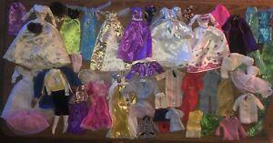 LOT Barbie KEN Doll GOWN Disney Princess Dress CHRISTMAS Party Clothes VTG & MOD