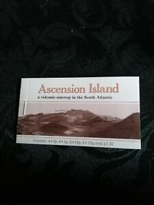 Ascension Island Flowers Stamp Booklet - Complete and in great condition