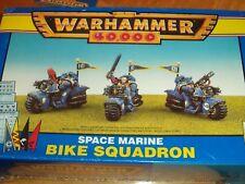 Space Marine Bike Squadron Squad Warhammer 40k 40,000 Games Workshop Model New!
