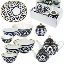Asiatisches Porzellan Pachta Gül Teeservice oder Schalen Handbemalt