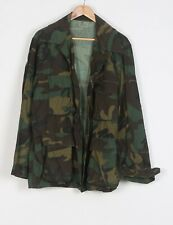 "Army Shirt Jacket Large Camouflage Camo Military 42"" 44"" (53A)"