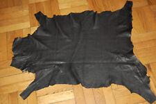 Beautiful Italian Leather Skin Hide Black Very Soft